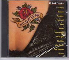 (EF702) Wild At Heart, 18 Rock Classics - 1996 CD