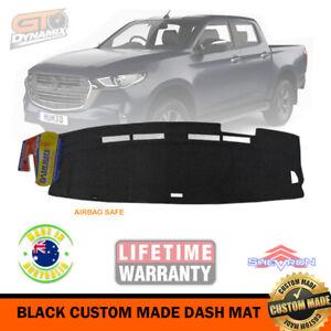 BLACK Dash Mat for Mazda BT50 TF XT XTR BT-50 Dual Cab + Single 7/2020-21 DM1591