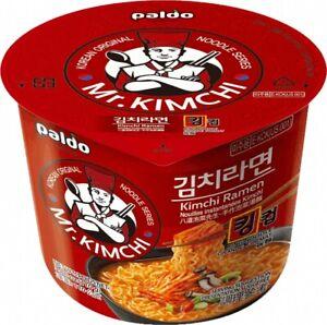 Kimchi Pot Noodles Ramen Instant Bowl Noodles 110g - PALDO Mr Kimchi