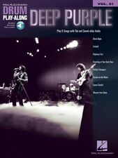 Deep Purple Drum Play-Along Book and Audio New 000278400