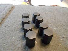 NOS  1985 - 1987 FORD ESCORT MERCURY LYNX WHEEL CAP LUG NUTS CAPS LOT OF 16x NEW