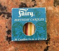 1960S Fairy Birthday Candles