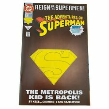 DC Comics Adventures of Superman #501 1993 Deluxe Edition Die-cut Cover VF/NM