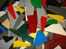 Lego x40 Wedged/Wing Plates Boards Strips Mixed Colours / Sizes Great for Sets!