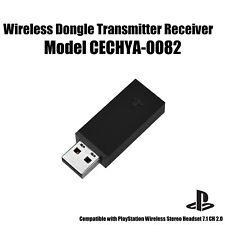 Genuine Sony USB Wireless Dongle Transmitter Receiver Model CECHYA-0082 Black
