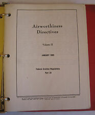 FAA Summary Of Airworthiness Directives For Large Aircraft Volume II