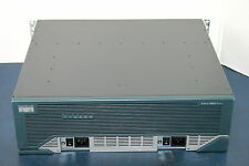 Cisco 3845 Integrated Service Router with Dual Power Supplies