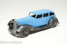 DINKY TOYS 36A 36 A ARMSTRONG SIDDELEY BLUE WITH BLACK EXCELLENT CONDITION