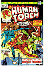 THE HUMAN TORCH #6 - JULY 1975 - 25¢ BRONZE AGE MARVEL CLASSIC - HIGH GRADE