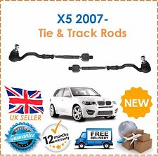 Outer & Inner Tie Track Rack Rod Ends Fit BMW X5 E70 2007- NEW Good Quality