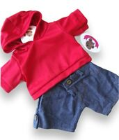 Teddy Bears Clothes fits Build a Bear Teddies Hooded Top & Jeans Outfit Clothing