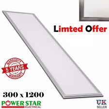 48 Watt LED Plafonnier 300 x 1200mm Panneau 9mm Clair 6000 - 6500k Blanc Froid