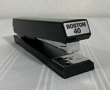 Boston Vintage Stapler 40 In Black, VERY GOOD!