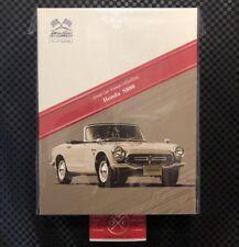 Honda S800 Stamp Set & Ebbro 1:64 Diecast Model Rare JDM S600 S500 Japan Post