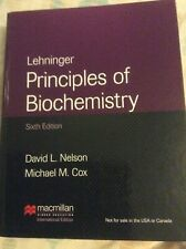 Lehninger Principles of Biochemistry 6th Edition Textbook