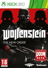 Wolfenstein The New Order XBox 360 *in Excellent Condition*
