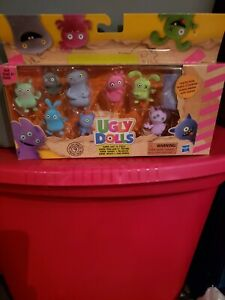 Hasbro 9 Mini Ugly Dolls Super Soft Fuzzy Collectables W/ Surprise NEW IN BOX