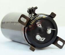 1× Classical Japan Brand ELNA Cerafine Capacitor 100uF+100uF 500V Made In Japan