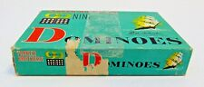 Parker Brothers Vintage Dominoes Wooden 1960 Double Nine 99 Complete Ship