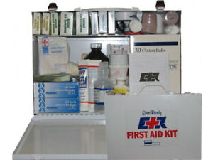 FIRST AID KIT METAL BOX 75 PERSON