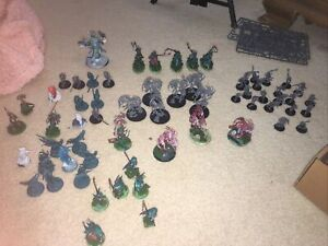 warhammer age of sigmar nighthaunt army partially painted