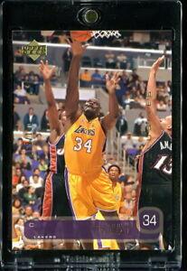 SHAQUILLE O'NEAL SHAQ 2002-03 UPPER DECK EXCLUSIVES GOLD #d 069/100 RARE