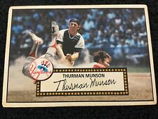 TWO Banty Red 52's Munson #4 (POP 2 / 1971 Topps Photo)