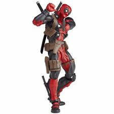 Revoltech Amazing Yamaguchi 001 Marvel Deadpool Figurine Articulée Kaiyodo New