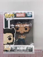 Funko Pop! Marvel Logan In Tanktop Vinyl Toy Figure #647 X-MEN NOT MINT BOX L01