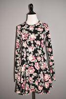 SHOW ME YOUR MUMU $145 Long Sleeve Floral Harrison Babydoll Dress XS