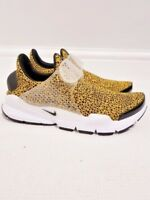 Nike Sock Dart QS UK 5.5 University Gold Black White 942198700