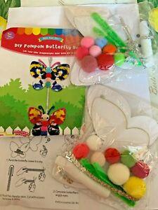 Butterfly Pom Pom Craft Kit