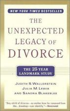 The Unexpected Legacy of Divorce: The 25 Year Landmark Study-ExLibrary