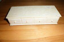 Vintage Barbie Suzy Goose Hope Chest w drawer storage chest 1960's