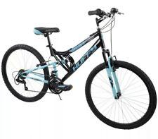 "Huffy 26"" Trail Runner Womens Mountain Bike, Metallic Pool Blue"
