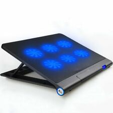 USB Laptop Notebook Computer Cooling System Fan Pad Mat Cooler Base Stand 15.6 ""