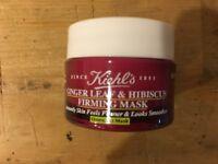 2X Kiehl's Ginger Leaf & Hibiscus Firming Mask 0.5oz each, 1.0 oz Total