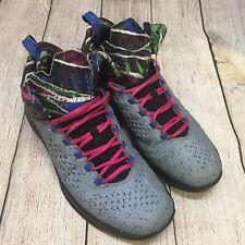 Nike Air JORDAN Melo M11 ConcreteIsland Basketball Shoes 716227-413 Size 10