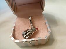 Juicy Couture Silver Lipstick Charm - New in Box