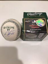 DALE EARNHARDT JR. SIGNED 2001 Rawlings Allstar Game Ball!! Super Rare!!