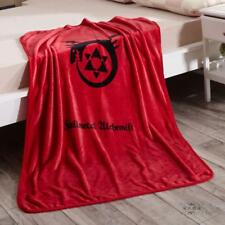 full metal Alchemist red coral fleece Blankets Throws quilt warm blankets cool