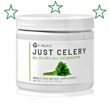 Just Organic Celery It Works New Product  Jar Sealed/Brand New , 1 month supply