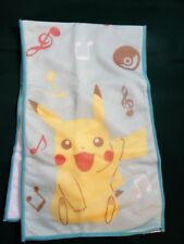 Pikachu Pokemon Musical Notes Burp Cloth From Japan