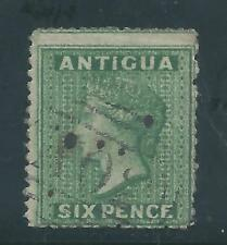 Antigua - 1863 Sixpence Definitive - Postally Used