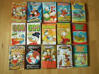 Walt Disneys Lustige Taschenbücher Spezial, Mammut, Enten Edition - Konvolut