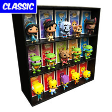 Classic Display Cases for Funko Pops, Black Corrugated Cardboard