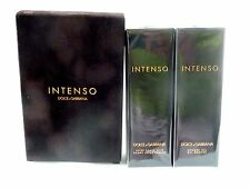 Dolce GABBANA intenso AFTER SHAVE BALM 100 ml Docciaschiuma 100 ml Set