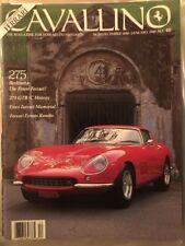 FERRARI Cavallino Magazine #48 Dec1988/Jan 89-275 Berlinetta,Enzo Memorial