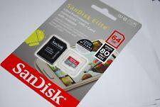 SanDisk 64gb Elite Ultra Plus microSDXC Uhs-1 Class10 Adapter