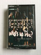 Fu-schnickens Shaquille O'Neal (Shaq-Fu) What's Up Doc? Cassette Tape